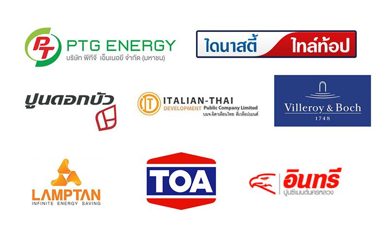 ลูกค้าของ Max Ptoducts Marketing ในกลุ่ม Heavy Goods Industry