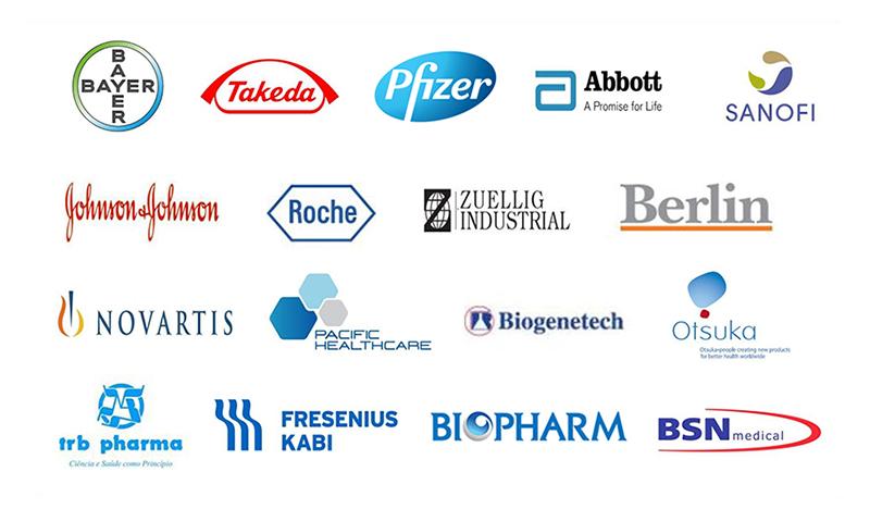 ลูกค้าของ Max Ptoducts Marketing ในกลุ่ม Pharmaceutical Industry