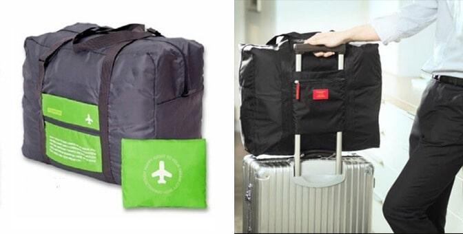 กระเป๋าเดินทาง พรีเมี่ยม แบบพับได้