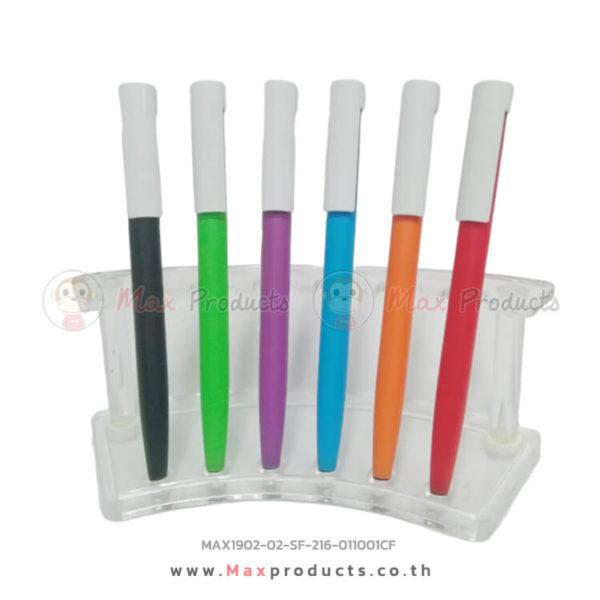 ปากกาแฟชั่น คลิปขาว/ปลายทัสกรีน 011001CF